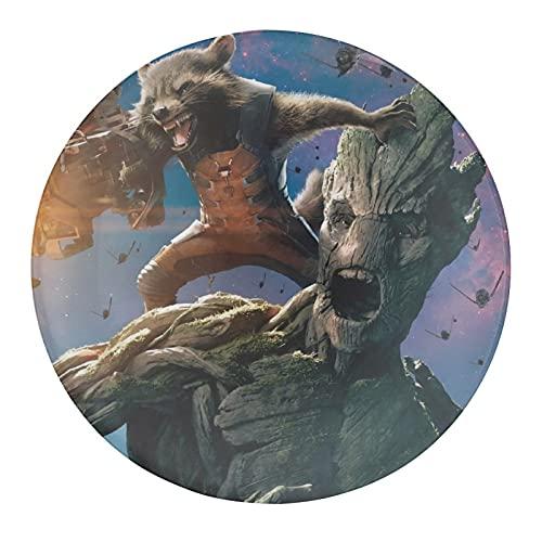 Baby Groot Naruto Uchiha Itachi Imanes para nevera – Juego de imanes de cristal para nevera, imanes de cristal para pizarra blanca, imanes decorativos para niñas y niños (redondos/30 mm) 1 unidad