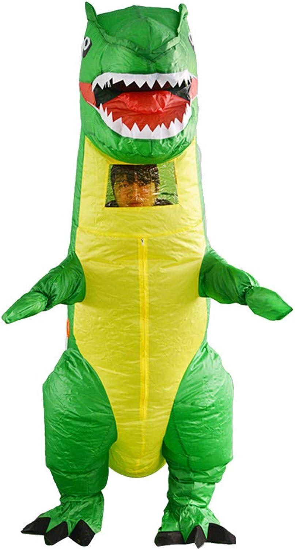WOZOW Aufblasbare Kleidungsstücke, Dinosaurier Kostüm Lustige Weihnachts-Kleidung Inflatable Clothes Karneval Party für Kinder Erwachsene (grün und gelb) B07N1FD8DY Wirtschaft    Fierce Kaufen