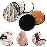 leegoal 3 Unidades Toalla Desmaquillante Facial Microfibra Lavable/Reutilizable,Maquillaje Remover...