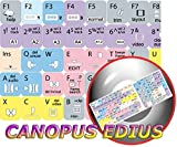 4Keyboard New Canopus EDIUS Keyboard Stickers for Desktop, Laptop and Notebook