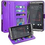HTC Desire 530 Case, Scott-UK Luxury PU Leather Wallet Case