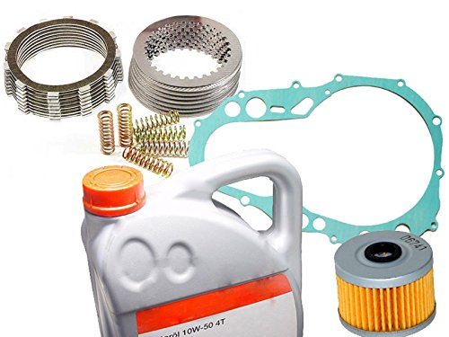 Kupplung mit Lamellen, Federn und Dichtung Ersatzteil für/kompatibel mit Suzuki LTZ 400 03-04