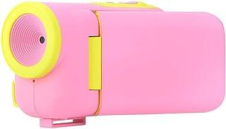Mini Niños Juguetes Cámara1.77  HD Color Brillante16 Millones de Píxeles Zoom Cámara Fotográfica Digital con Cinturón de Muñeca Correa para el CuelloMejor Regalo para Niños Fotografía(Rosado)