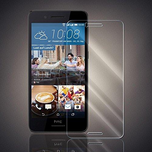 Panzerfolie für HTC Desire 728G Panzer Schutzglas Folie Premium Bildschirmschutzfolie [Screen Protector] 9H HD Glasfolie Hartglas Schutzfolie Displayschutz