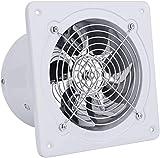 SAIYI Silenzioso Cucina Bagno Cappa 8 Pollici (200mm) Standard di Metallo Ventilazione Estrazione 60W (Volume: 1050m³ / h, velocità: 2800r / min)