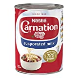 Nestl? Carnation Topping Evaporated Milk 410 G (pack Of 12)