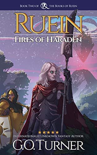 Ruein: Fires of Haraden: Action/Adventure Necromancy Series (Books of Ruein Book 2) (English Edition)