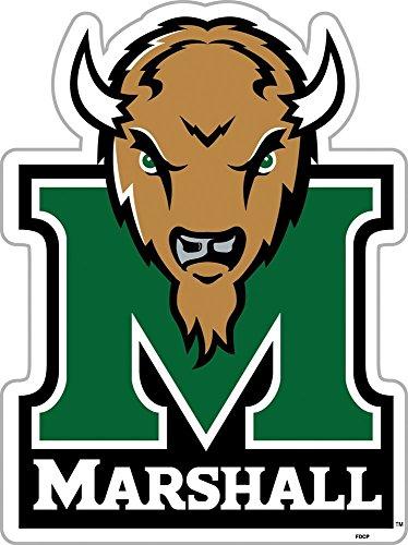 Fremont Die NCAA Marshall mitreißenden Herde 30,5cm Vinyl Magnet