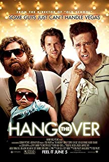 movie poster the hangover