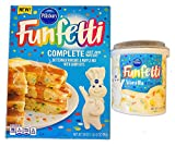Pillsbury Funfetti Buttermilk Pancake And Waffle Mix Kit! Buttermilk Pancake & Waffle Mix With Candy...