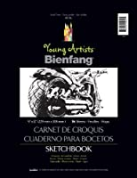 Bienfang Young Artists Sketchbook, 36 Sheets, 9-Inch by 12-Inch [並行輸入品]