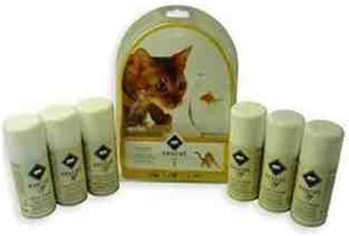 PetSafe SSSCat Deterrent Unscented Refill Total Industry No. 1 Limited time sale of 6 Spray Pack