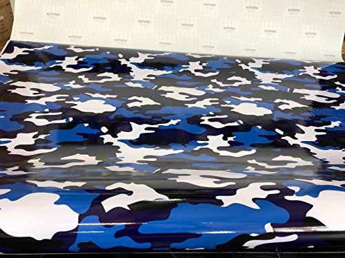 LEON-FOLIEN (30EUR/m²) Camouflage Camo AutoTarnfolie militär Stickerbomb car Wrapping 30X150CM