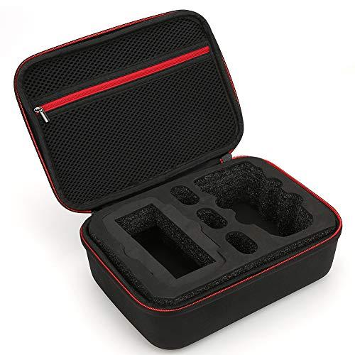 Caja de Almacenamiento para Drones, Estuche de Transporte para Drones de Seguridad con asa incorporada, para Mini Drones Que Van de excursión al Aire Libre(Negro)