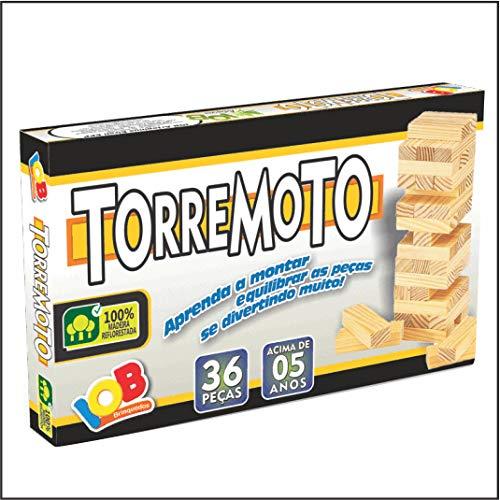 Brinquedo Educativo Madeira - Torremoto