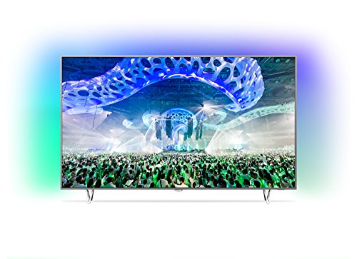 Philips 65PUS7601 164 cm (65 Zoll) Fernseher (Ambilight, 4K Ultra HD, Triple Tuner, Android TV)