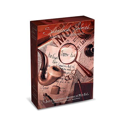 Asmodee- Sherlock Holmes Consulente Investigativo: Jack Lo Squartatore e Avventure nel West End-Gioco da Tavolo Edizione in Italiano (8553 Italia)