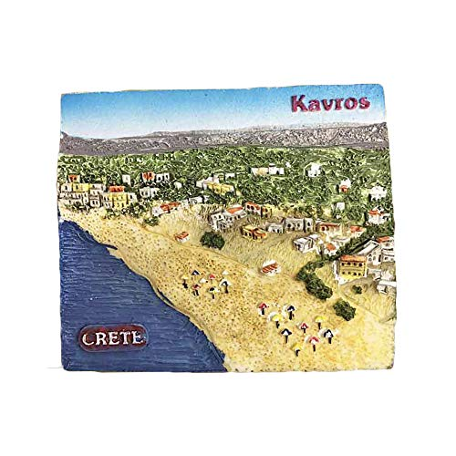 3D Crete Greece Refrigerator Magnet Travel Sticker Souvenirs,Home & Kitchen Decoration Fridge Magnet from China