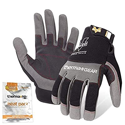 Valeo Industrial V720 ThermaGear Cold Weather Mechanics Gloves