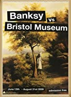 ポスター バンクシー basnksy bristol Hanging Klansman 2009 額装品 ウッドベーシックフレーム(ナチュラル)