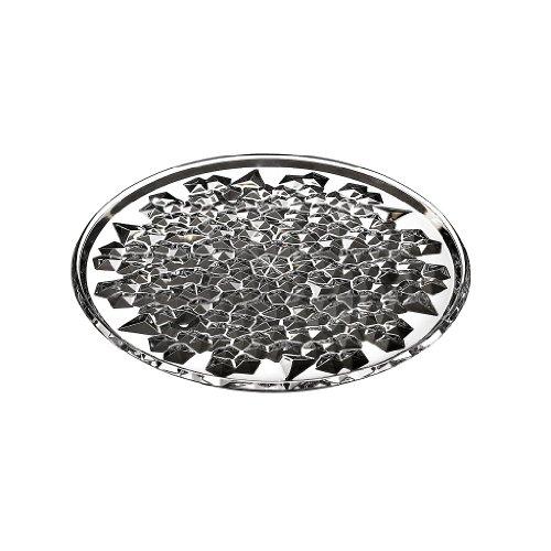 Tortenplatte Tortenteller Kuchenplatte Katarina Gold Transparent 35 cm