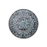 México,Maya,Calendario,Adivinación,Azteca,Moneda,Insignia,Moneda Conmemorativa,Profecía,Enduro,40 Mm el Mejor Regalo/Plata / 2 Piezas
