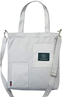 COAFIT Shoulder Bag Casual Canvas Crossbody Bag Messenger Bag for Women
