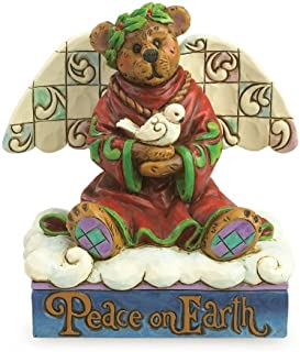 Jim Shore Boyds Bears Peace on Earth Angel Bear Dove Figurine 4035826