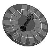 Fuente Solar para Estanque, AISITIN 3.5W Bomba de Agua Solar, Solar Fuente con 6 Estilos,...