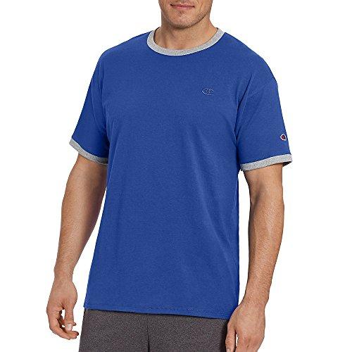 Champion Men's Classic Jersey Ringer Tee Shirt