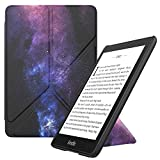 MoKo Case Replacement with Kindle Paperwhite (10th Generation, 2018 Releases), Standing Origami Slim Shell Cover with Auto Wake/Sleep for Amazon Kindle Paperwhite 2018 E-Reader - Dreamy Nebula Purple