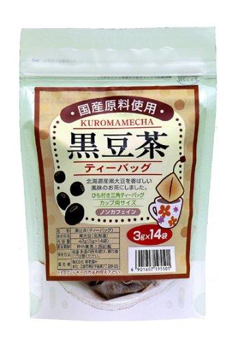 寿老園 国産黒豆茶 14P 3gX14袋