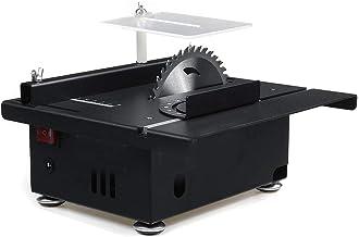 LWQ 100W multifunción Mini Sierra de Mesa, Hecha a Mano de la Madera Sierra de Banco DIY Hobby Modelos de Naves de la Herramienta de Corte Circular de 125 mm + Hoja de Sierra