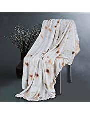 ADHW 180 cm burrito filt tortilla textur taco burrito wrap filt rund bästa presenten