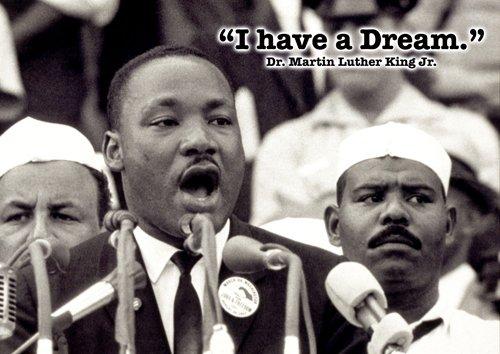 Martin Luther King jr, 4 - schwarz ICON - motivational - berühmtem Spruch Zitate - A3 poster, Druck, Bild