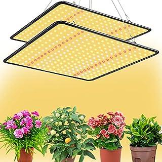 چراغهای رشد BAVIHOR Grow Light 2-Pack Sunlike 200W Full Spectrum LED برای گیاهان داخل ساختمان سبزیجات نهال و گیاهان شکوفه