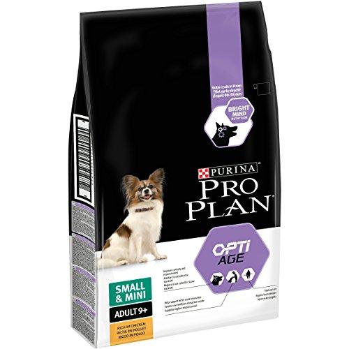 Pro Plan Optiage - Croquetas para Perros pequeños de 9 años o más, ricas en Pollo, 7kg