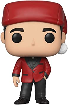 THE OFFICE US TELEVISION SERIES MICHAEL SCOTT AS CLASSY SANTA #906 FUNKO POP