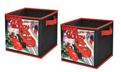 Disney Cars 2 Storage Cubes, Set of 2, 10-Inch