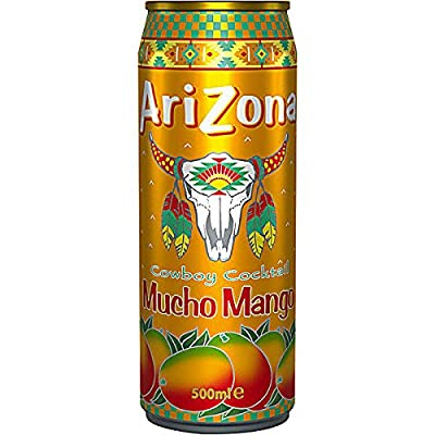 Arizona Cowboy Cocktail Mucho Mango 12 x 500ml Dosen (inkl. 3,00 Euro Pfand)