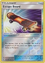 Escape Board - 122/156 - Uncommon - Reverse Holo - Sun & Moon: Ultra Prism