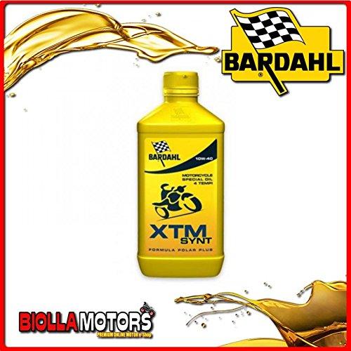 339040 OLIO BARDAHL XTM SYNT 10W40 LUBRIFICANTE PER MOTO 4T 1LT
