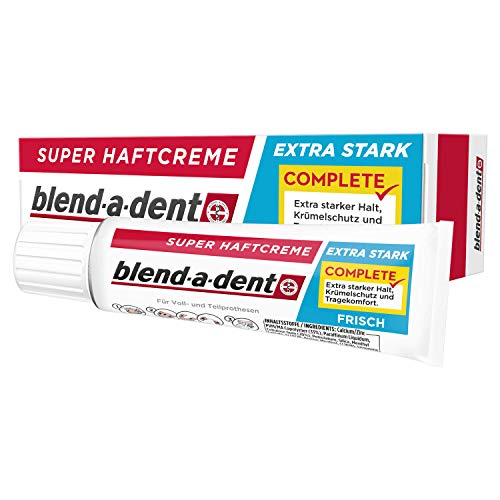 Blend-a-dent Complete Haftcreme Frisch, 12er Pack (12 x 47 g)