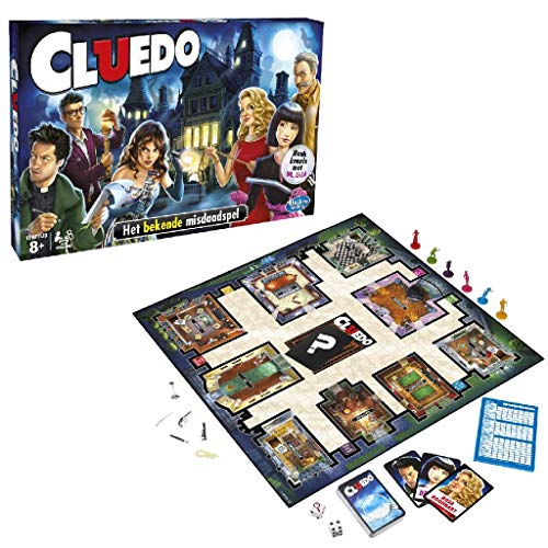 Hasbro Games Cluedo Het Bekende Misdaadspel