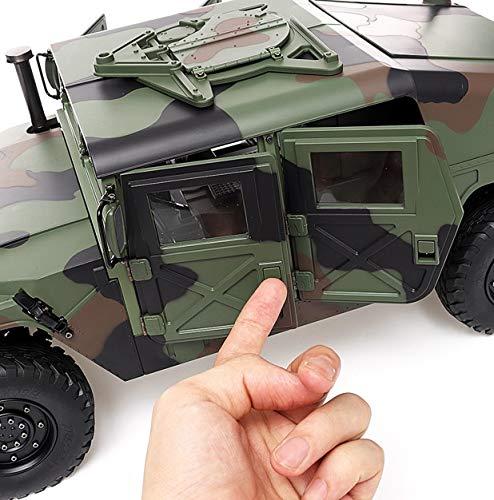s-idee® HG P408 Militrary mit Licht, Sound, Akku, Ladegerät RC 1/10 2.4G 4WD 16CH 30 km/h Rc Model C