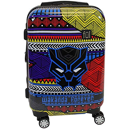 ful Marvel Marvel Black Panther Tribal Luggage, Multi 21 inch