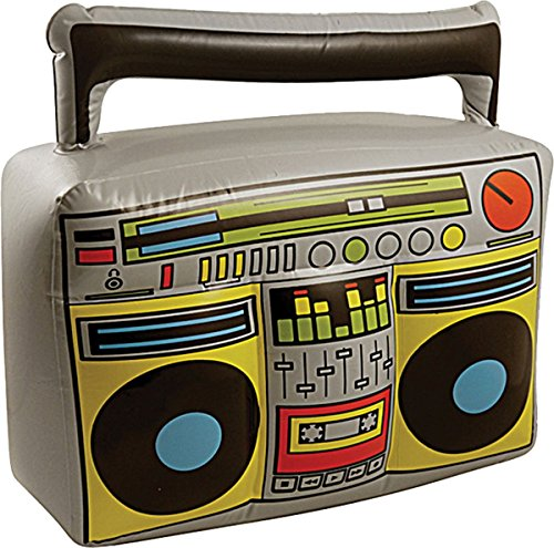 Inflatable Boom Box, Blow Up, Fancy Dress, Accessory