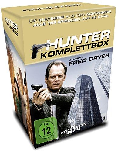 Hunter - Komplettbox (Cigarette Box mit Sammelkarten) (Limited Edition) (42 DVDs)