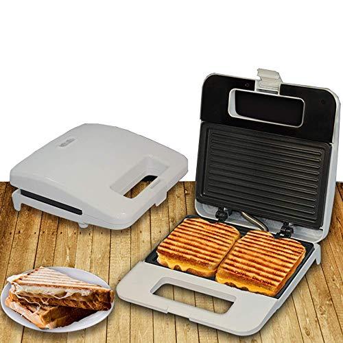GIRISR Machine à Sandwich électrique gaufrier Belge Presse à Panini en Fer pour Petit déjeuner dîner Grillage Griller des omelettes Grille-Pain ou des collations