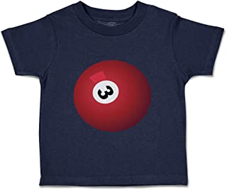 Custom Baby & Toddler T-Shirt Pool Ball Cotton Boy & Girl Clothes